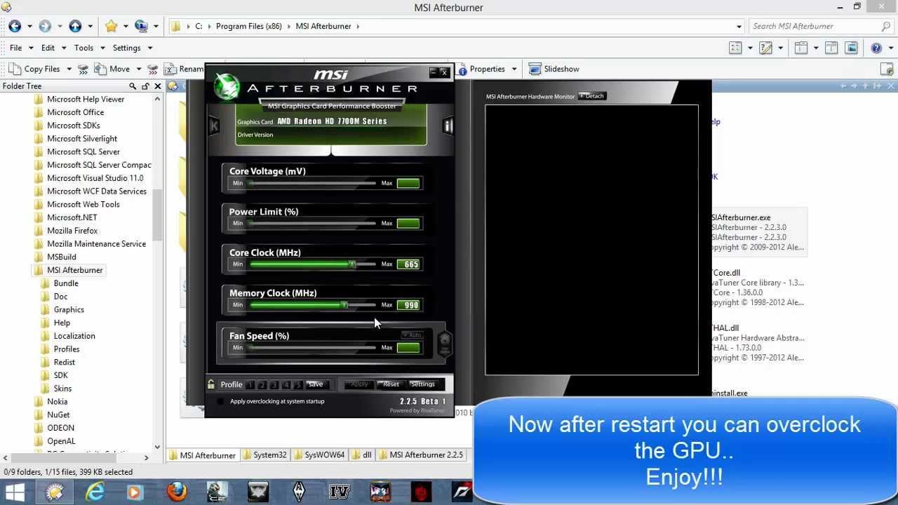Dirt 2 gameplay on acer aspire one 725 netbook amd c-70 radeon hd.