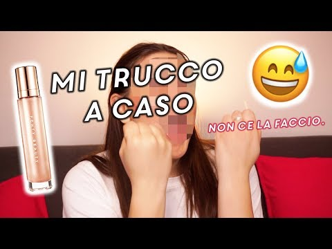 MI TRUCCO TOTALMENTE A CASO !!! 😂MAKEUP CHALLENGE | The Lady