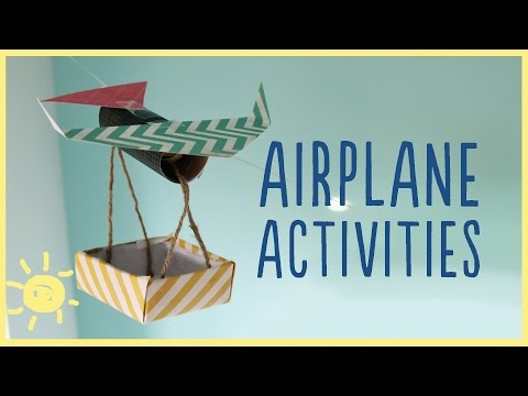 "PLAY | 3 ""Paper"" Airplane Activities"