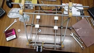 Самодельный 3D-Принтер на самодельном фрезерном станке! Reprap 3d printer Prusa! Часть №1.(Создание самодельного 3d принтера из строительных шпилек 8мм! Начало... Часть №1., 2016-01-28T21:26:33.000Z)