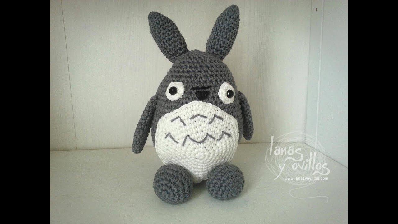 Amigurumi Totoro : Tutorial totoro amigurumi paso a paso en español de youtube
