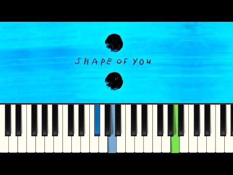 💎Ed Sheeran - Shape of You - Piano tutorial - Master Teclas💎