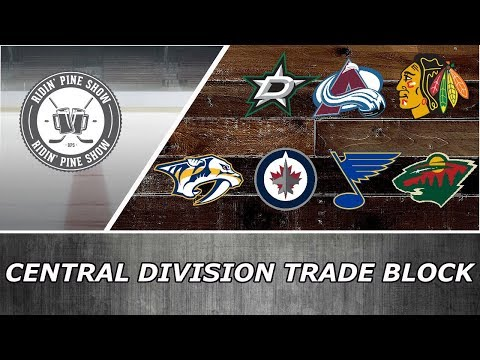 NHL Central Division Trade Block