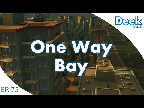 One Way Bay Ep.75 - The Great Springler Row Traffic Jam and Expansion - Cities Skylines