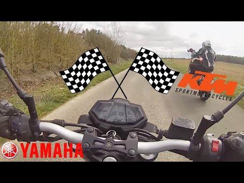YAMAHA MT-125 VS KTM DUKE 125