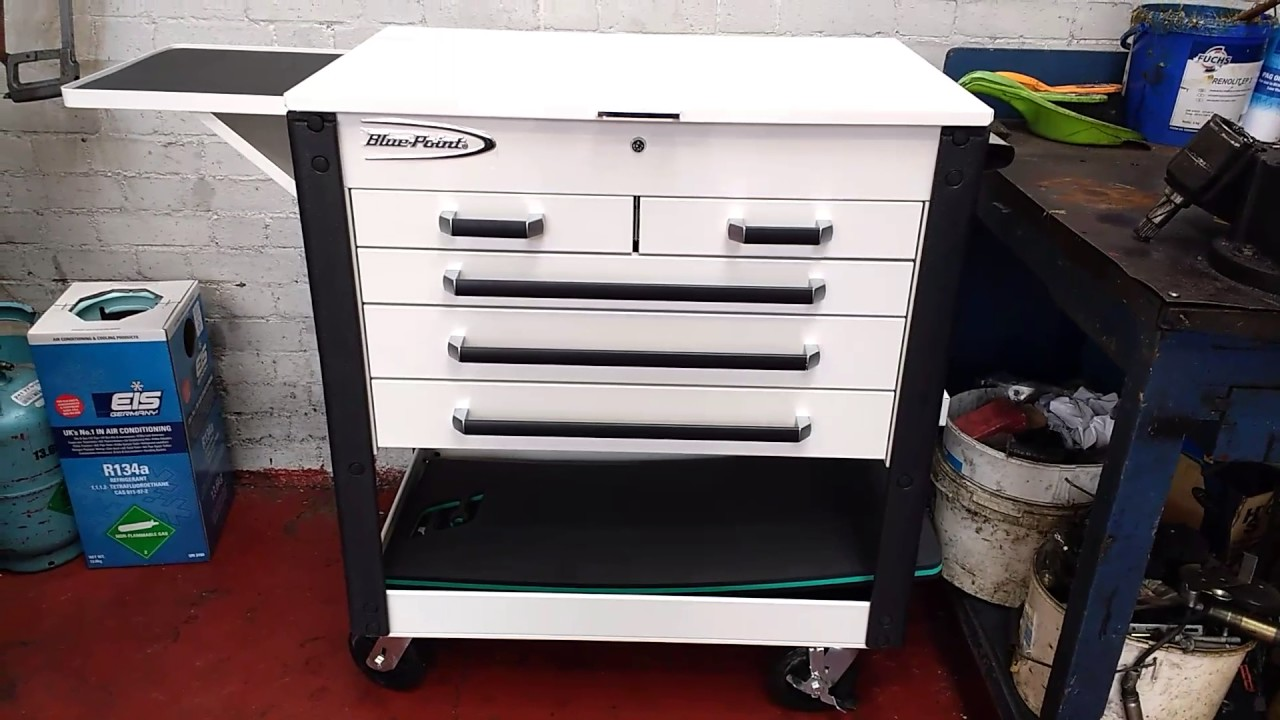 Blue Point Tool Cart >> Joe S Snap On Tools Blue Point Roll Cart Youtube