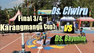 Download lagu Final Karangmangu Cup 2 ( Ds Ciwiru Vs Ds Bayuning )