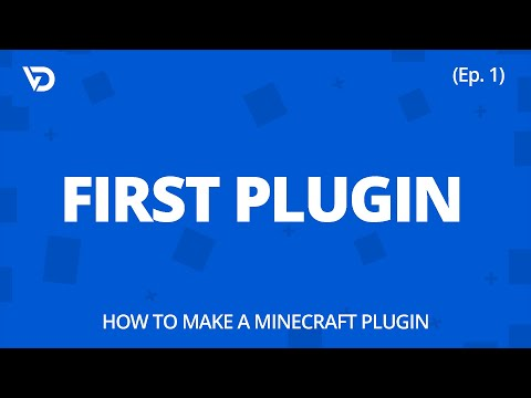How To Make A Minecraft Plugin | First Plugin (Ep. 1)