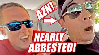 AZN and I Got PULLED OVER by an ANGRY Cop!