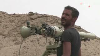 جانب من معارك السيطرة على مطار الحديدة