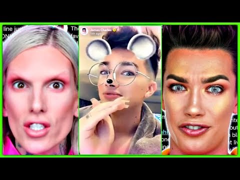 James Charles QUITS YouTube Because Of Jeffree Star thumbnail