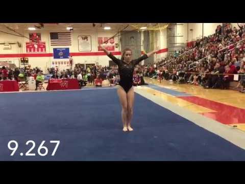WIAA 2017 Gymnastics State