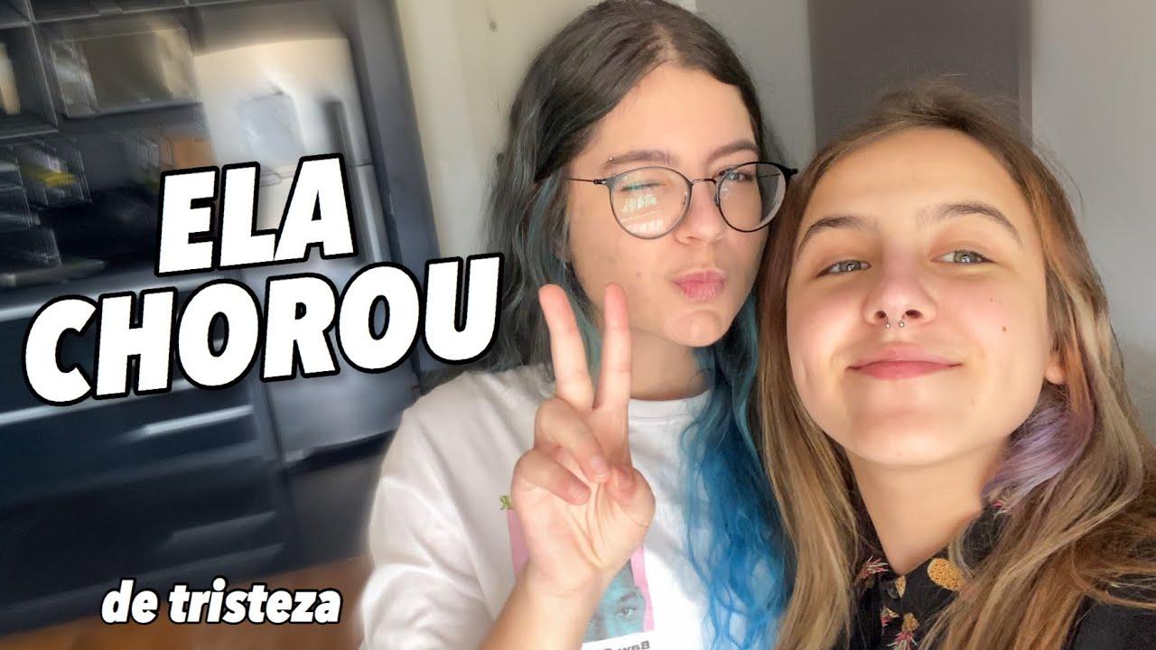 CONHECI MINHA MELHOR AMIGA VIRTUAL! *vlog*