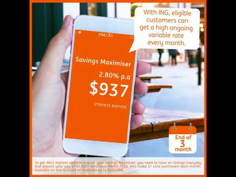 Save smarter, with ING