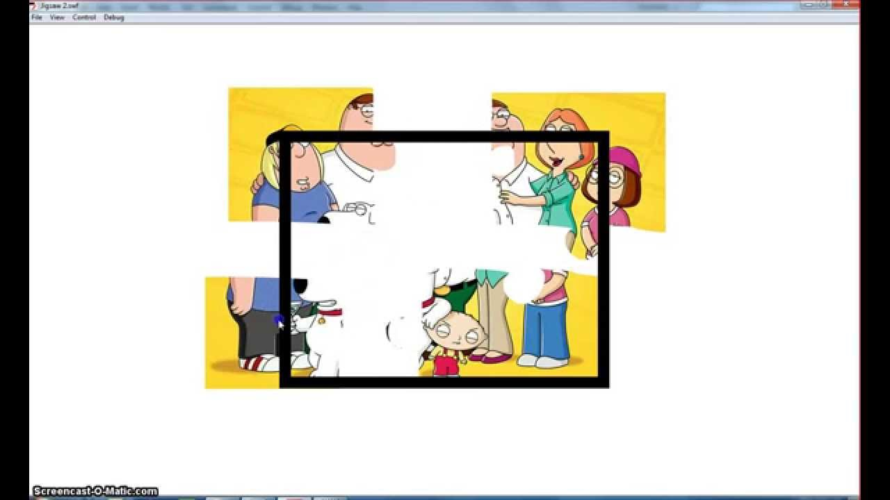 Make a Drag & Drop Jigsaw Puzzle With Targets in Adobe Flash