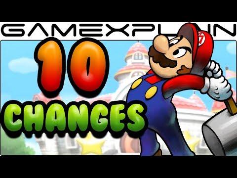 10 Gameplay Changes in Mario & Luigi: Superstar Saga 3DS
