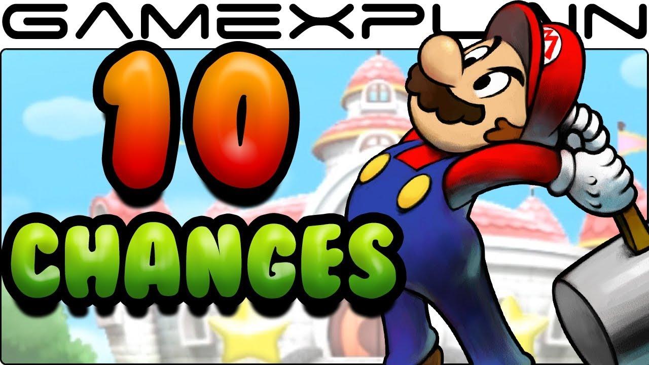 10 Gameplay Changes In Mario Luigi Superstar Saga 3ds