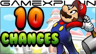 10 Gameplay Changes in Mario & Luigi: Superstar Saga 3DS