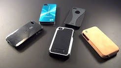 Top 5 BEST iPhone 4S & 4 Cases | Protectors | Covers | Review/Test | iPhone 5