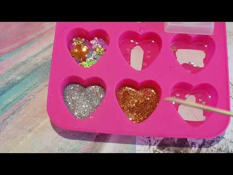 Heart Resin Tutorial | How to make resin charms