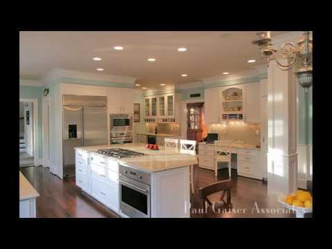 Bi level house kitchen design
