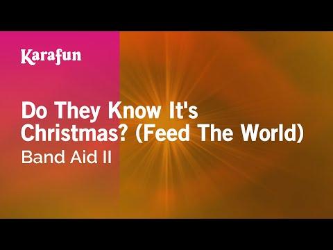 Karaoke Do They Know It's Christmas? (Feed The World) - Band Aid II *