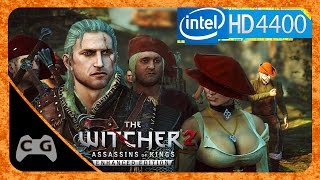 The Witcher 2: Assassins of Kings (Enhanced Edition) Gameplay Intel HD Graphics #32