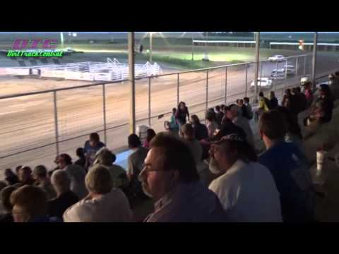 IMCA Hobby Stock Heat Race Thomas County Speedway 9-4-15