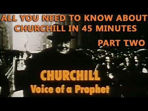 Winston Churchill - Voice of a Prophet