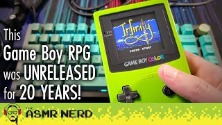 ASMR Whisper | Tнis Game Boy Color RPG Was Unreleased For 20 Years! 😮