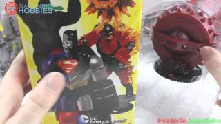 DC Heroclix Superman Wonder Woman Unboxing
