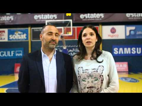 Women League - Arab Youth VS Riyadi - Tammam and Nayla Jaroudi - Post Game Interview