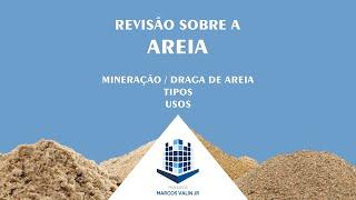 Revisão de Agregado Miúdo - Areia - Mineração de areia para uso na construção / Dragagem - MC2-2