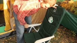 Кресло складное откидное для кемпинга Greenell «FC-9» | 5990руб. ($103)(, 2014-09-30T22:21:20.000Z)