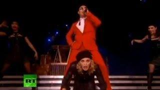 Мадонна и PSY спели вместе / Madonna and PSY Gangnam style