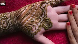 Wedding, Engagement, Teej, KarwaChauth Special Full Hand Mehndi ...