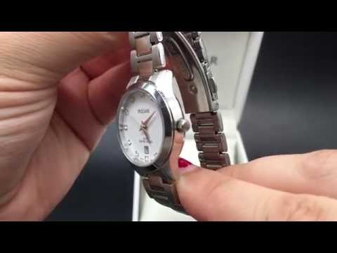 Chronos Watches Womans Small Silver Watch PH7275