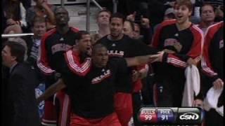 Derrick Rose posterizes Dragic of the Phoenix Suns (CSN version) thumbnail