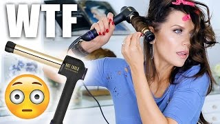 WEIRDEST HAIR TOOL EVER ...  WTF