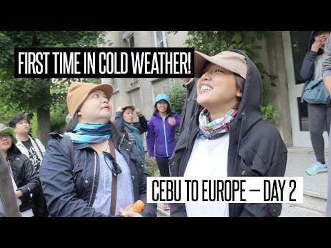 Filipinos' First Time in Cold Weather! – Cebu to Europe DAY 2