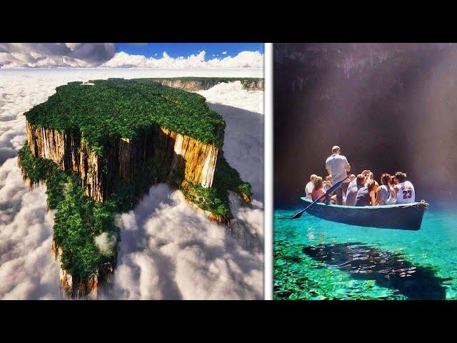 10 Lugares que Parecen Flotar en el Aire