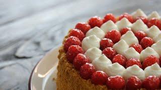 Потрясающий МАЛИНОВЫЙ торт МЕДОВИК с ЗАВАРНЫМ кремом