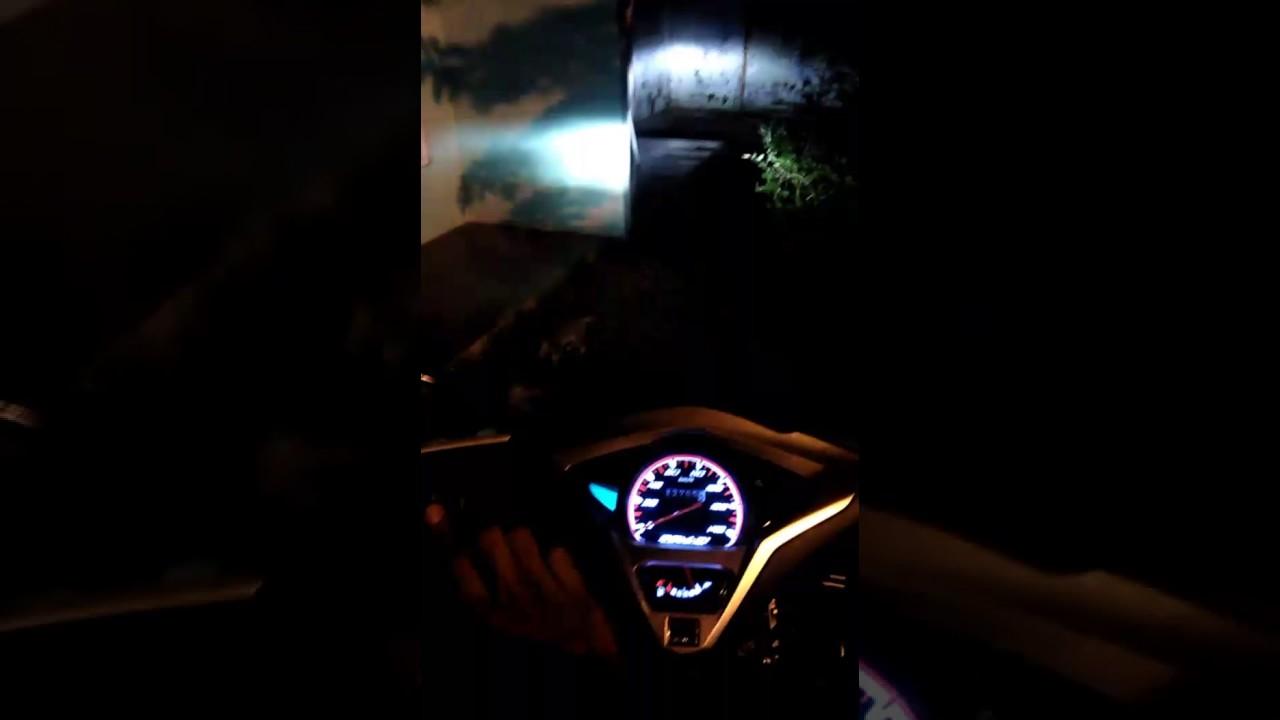 Test Lampu Dimmer Vario 110 Led