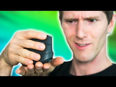 A $100 mouse you hold like THIS??