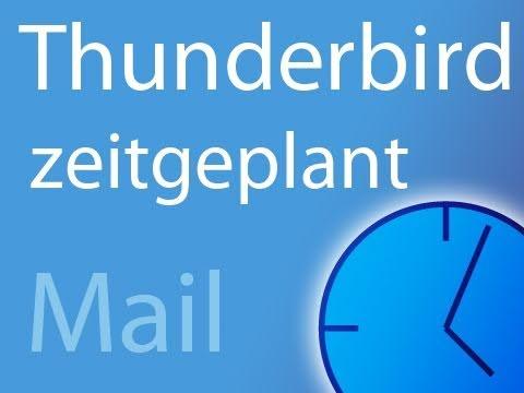 thunderbird mails automatisch