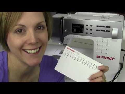 Bernina 330 01A Introduction