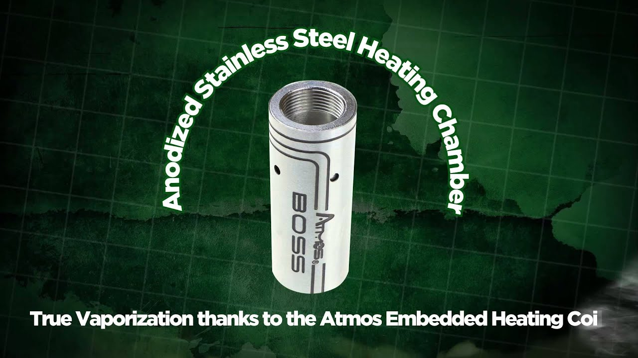 atmos boss vaporizer how to know when charged