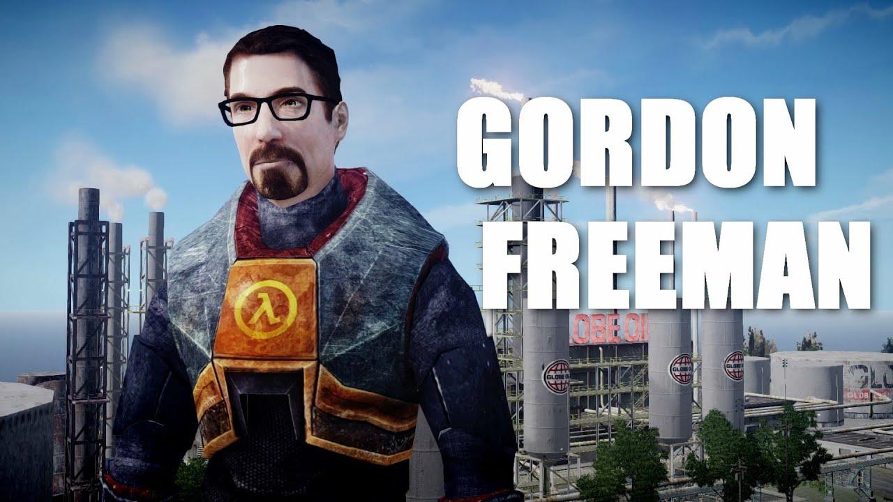 Gordon freeman half life 3