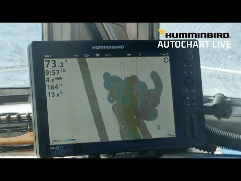 Creating Detailed, Custom Digital Charts With Humminbird AutoChart Live