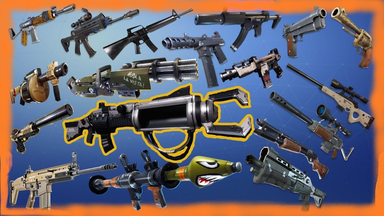 fortnite battle royale all guns pu2 org potwo